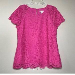 JCrew Lace Shirt